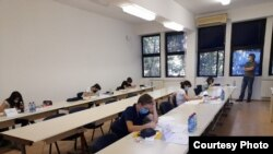 Македонскиот тим на 24 Јуниорска балканска математичка олимпијада