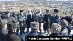 Памятная акция, посвященная годовщине депортации чеченцев Ауха (архивное фото)