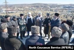Аух, Дагестан. Памятная акция, посвященная годовщине депортации, фото из архива