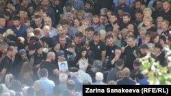 Похороны Инала Джабиева (архивное фото)