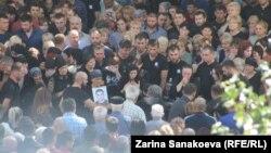 Похороны Инала Джабиева