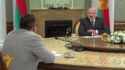 Лукашэнка: Я не хачу таго, што ва Ўкраіне. Фрагмэнт відэаінтэрвію