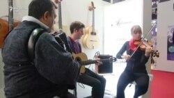 Cu Trio Dinicu (Los Angeles) la Tîrgul Internațional al Muzicii de la Frankfurt