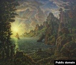 Константин Богаевский. Вечернее солнце
