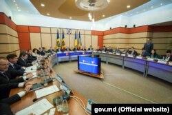 La ședința comună a celor două guverne