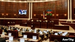 Azerbaijan -- Milli Majlis discusses 2015 state budget package - 20Nov2014