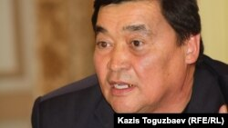 Независимый журналист Рамазан Есергепов. Алматы, 23 октября 2012 года.