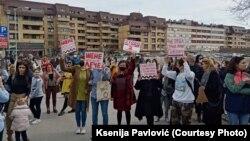 Zbog stanja u Domu zdravlja, duže od mesec dana traju protesti u Mladenovcu