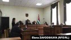 Адвокат Инга Габелаиа заявила суду о двух разных протоколах осмотра места происшествия из судебно-контрольных материалов и из материалов дела, направленного в суд