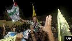 Slavlje na ulicama zbog oslobađanja palestinskih zarobljenika
