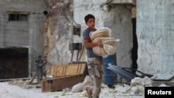 Suriyadan görüntü, 2 oktyabr, 2015-ci il