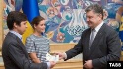 Гайдар и Федорин у президента Украины