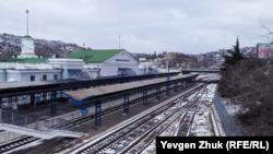 Железнодорожный вокзал в Севастополе