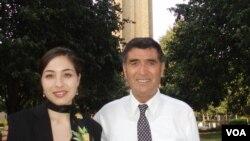 Роксана Сабери с отцом