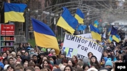 Protest ýörişi, Kiýew, 26-njy noýabr, 2013
