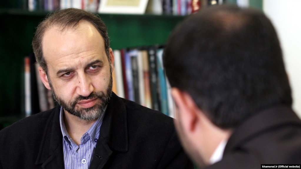 Former Director-General of the Iranian State Radio & TV (IRIB), Mohammad Sarafraz, undated.