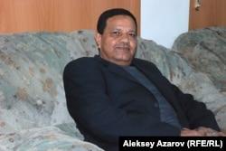 """Махмуд Ейса """"Таннура"""" ансамблінің директоры ғана емес, Египет мәдениет министрлігінің би бөлімінің де басшысы. Алматы, 14 қыркүйек 2015 жыл."""