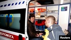 Один из пострадавших при разгоне акции на Майдане Незалежности