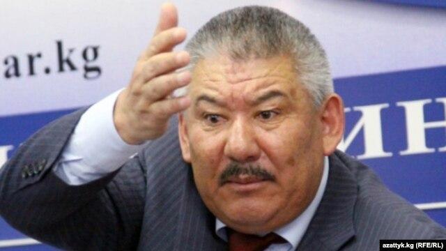 Former Kyrgyz Deputy Prime Minister Azimbek Beknazarov