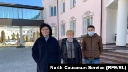 Адвокат Бэла Даутокова, Рамазан Молов с матерью