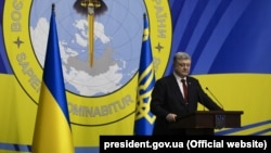 Украинанын президенти Петро Порошенко.