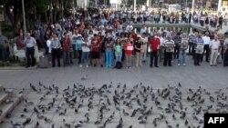 Pamje nga një protestë në Ankara