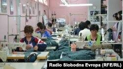 Работнички во Текстилна фабрика во Прилеп.