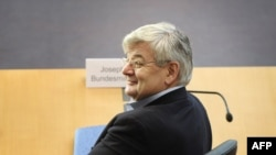 Former German Foreign Minister Joschka Fischer is now a lobbyist for the Nabucco gas pipeline project.