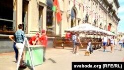 Пікет Аляксандра Лукашэнкі
