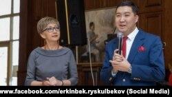Салтанат Саматова жана Эркин Рыскулбеков