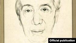 Un portret al lui Ionel Jianu pe coperta biografiei sale publicată în România