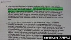 """TeliaSonera хўжайинлари Абдуллар Ориповни """"агрессив тип"""", деб атаган."""