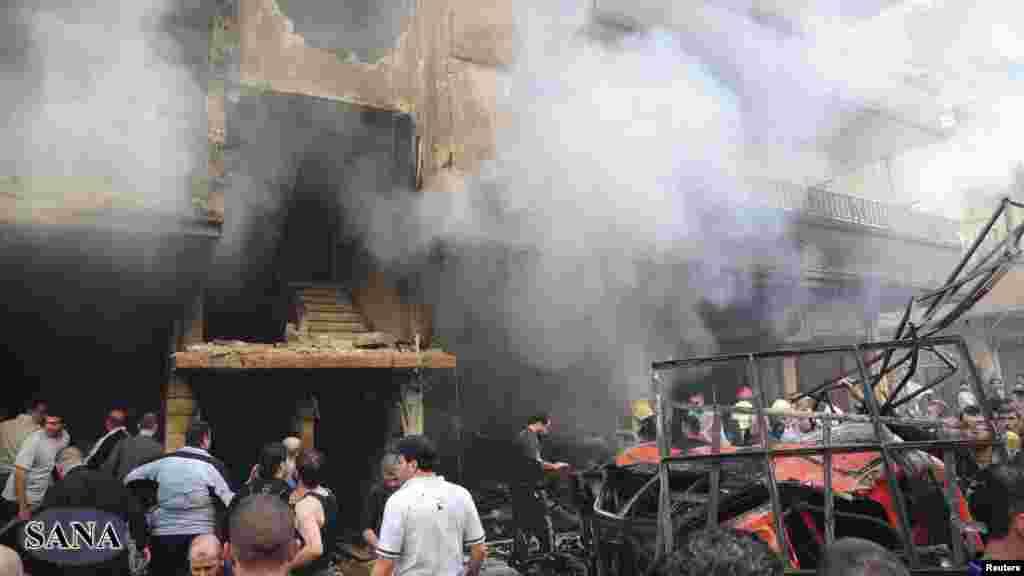 Damascus, 29. oktobar 2012. Foto: REUTERS / Sana