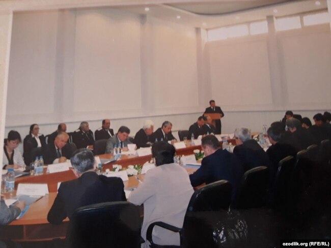 В настоящее время большинство участников этого собрания под руководством Рашида Кадырова находятся за решеткой.