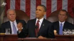 Обама выступил с ежегодным докладом
