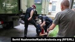 Суд у справі активіста Сергія Стерненка, затримання Олександра Кір'якова, 15 червня 2020 року