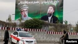 Хекматиярдын Кабулдагы сүрөтү. 2-май, 2017-жыл