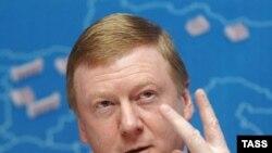 Анатолий Чубайс не принимает участие в выборах, так как является руководителем государственной корпорации