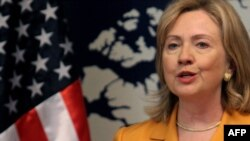 "U.S. Secretary of State Hillary Clinton cited ""grave concerns"" over ""provocative attacks from North Korea."""