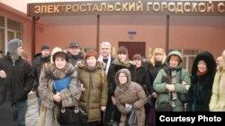 """""""Русь сидящая"""" в Электростали"""
