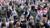 Жаночы марш у Менску, 5 верасьня 2020