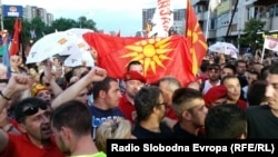 Архива: Собир на ВМРО-ДПМНЕ во Скопје.