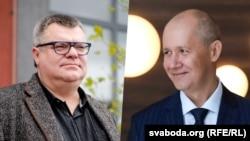Віктор Бабарико (зліва) та Валерій Цепкало