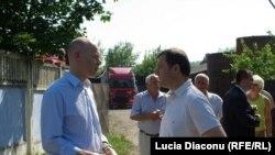 Premierul Vlad Filat și diplomatul american Marcus Micheli