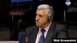 Slobodan Avlijaš svjedoči na suđenju Karadžiću, 11, ožujka 2013.