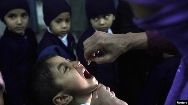 Nine polio-immunization workers have been killed by Islamist militants in the past week.
