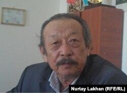 Главный редактор журнала «Көрші» Ибрагим Кошкари.