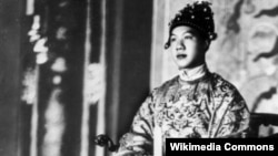 Юный правитель Аннама Бао Дай
