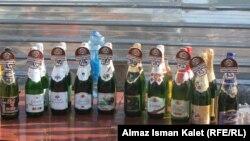 Продажа алкогольных напитков на рынке. Иллюстративное фото.