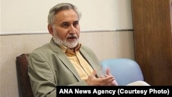 "Mohammad Reza Khatami and six others were found guilty of ""anti-regime propaganda"" activity."